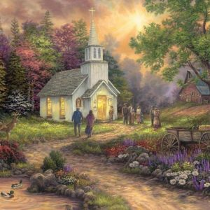 Chuck Pinson - Strength along the Journey 1000 Piece Puzzle
