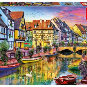 Colmar Canal France 4000 Piece Educa Puzzle