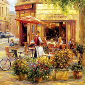 Corner Cafe 2000 Piece Educa Puzzle
