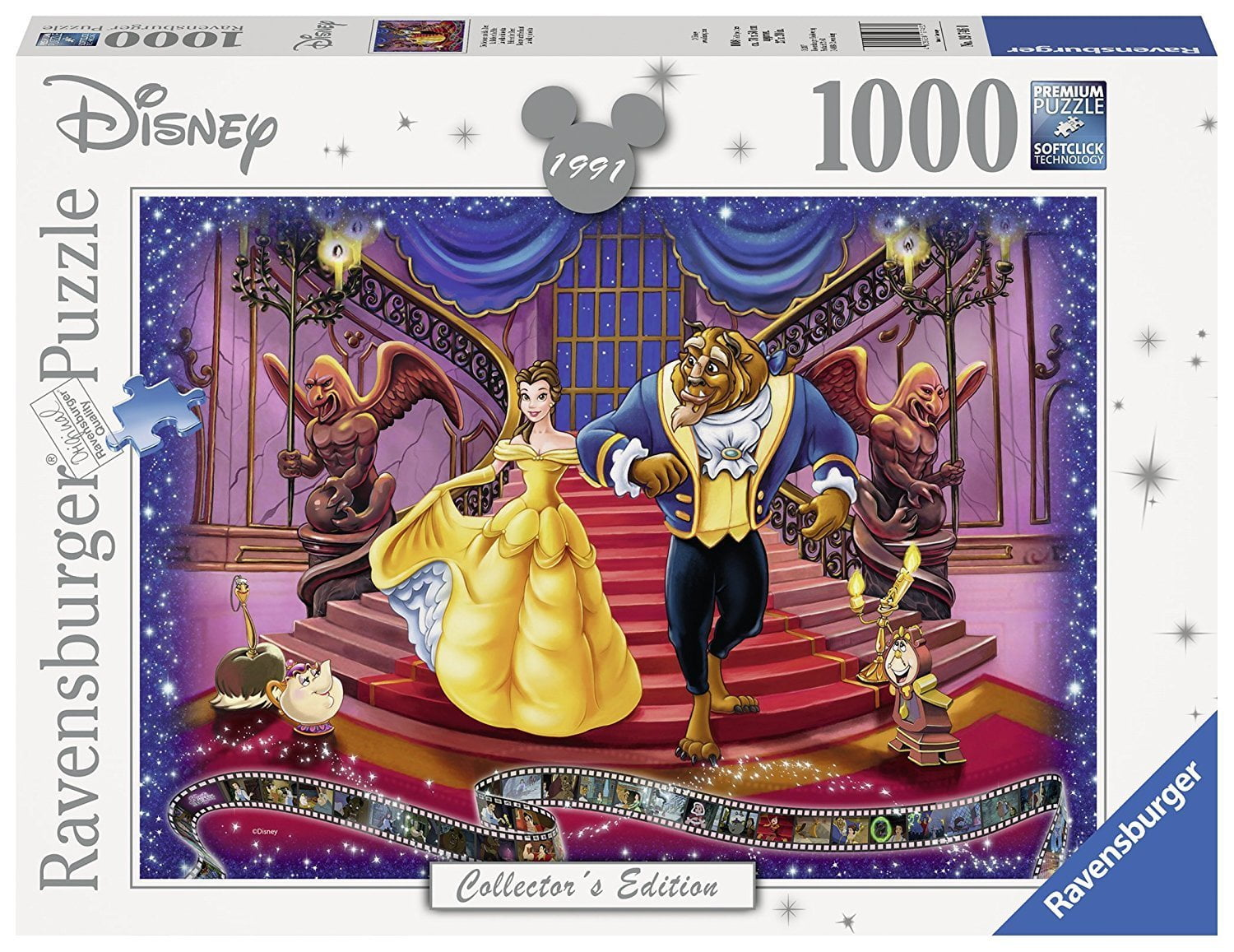 Disney Memories Beauty And The Beast 1000 Piece
