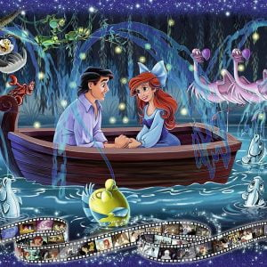 Disney Memories Little Mermaid 1000 Piece Ravensburger Puzzle