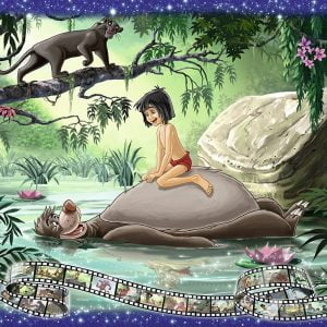 Disney Memories The Jungle Book 1000 Piece Puzzle
