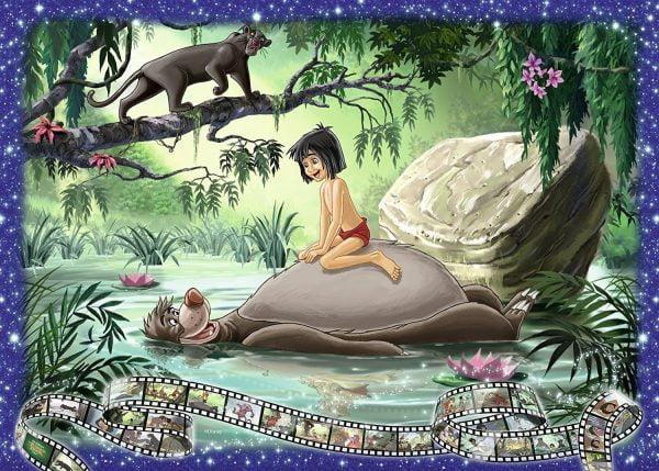 Disney Memories The Jungle Book 1000 Piece Puzzle