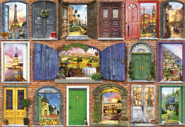 Doors of Europe 1500 piece Educa Puzzle