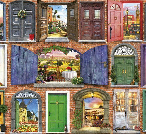 Doors of Europe 1500 piece Educa Puzzle