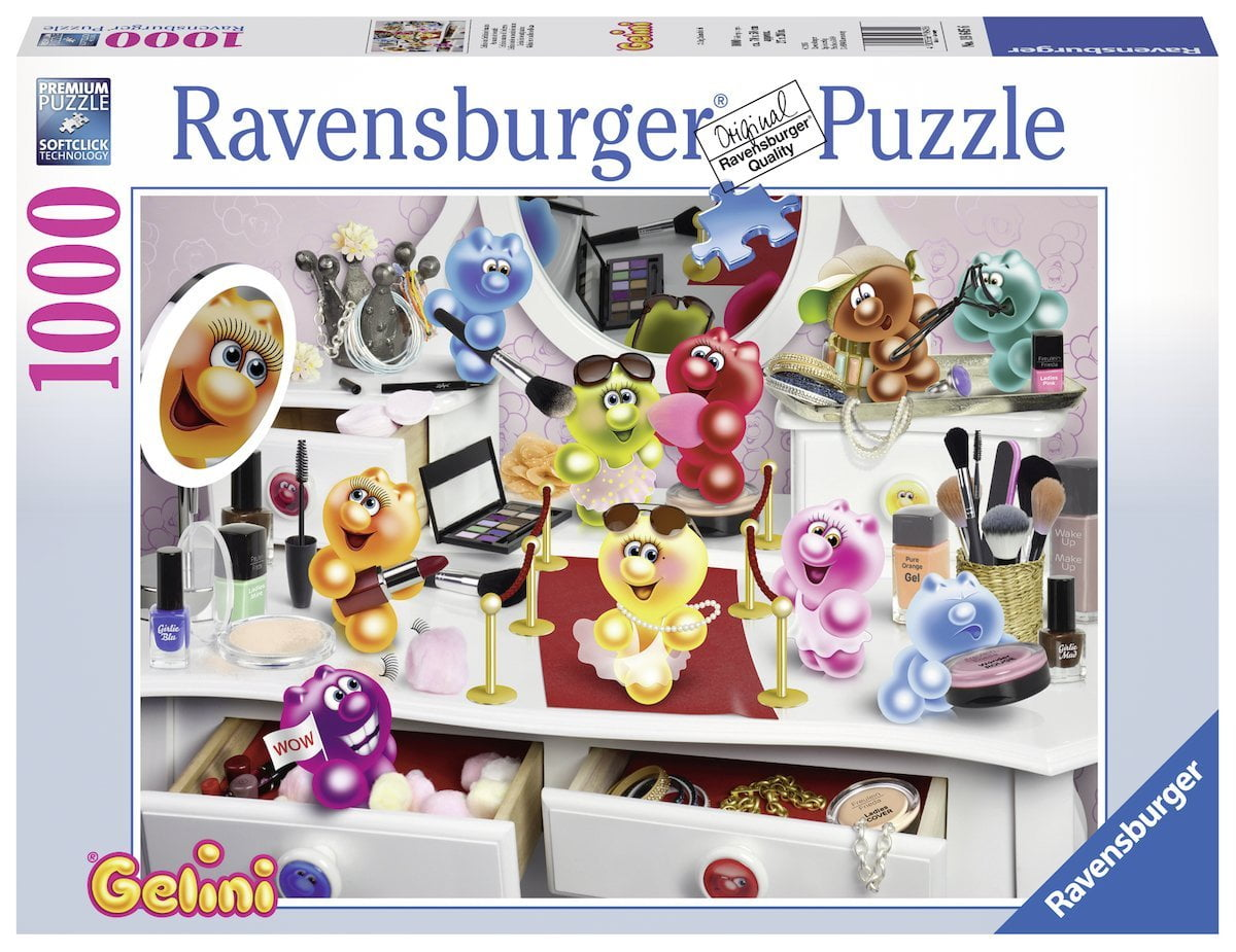Gelini in Beauty Salon 1000 Piece Ravensburger Puzzle