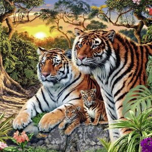 Hidden Tigers 3000 Piece Ravensburger Puzzle