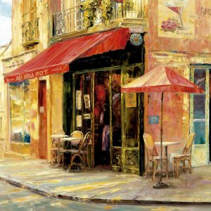 Hillside Cafe Haixia Liu 1500 Piece Educa Puzzle
