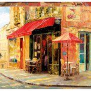 Hillside Cafe Haixia Lou 1500 Piece Educa Puzzle