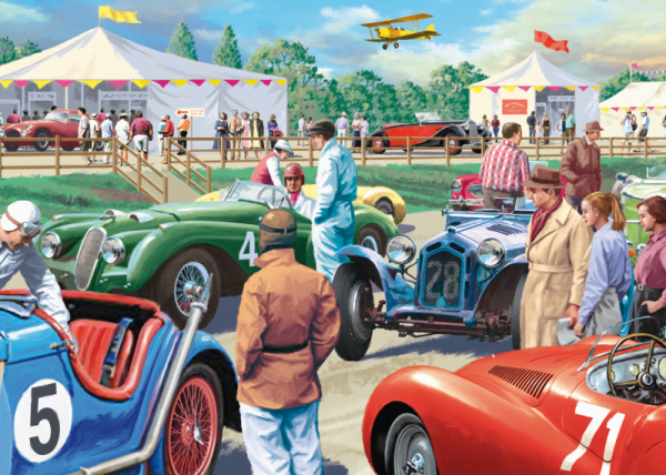 Legends of the Track 1000 Piece Puzzle