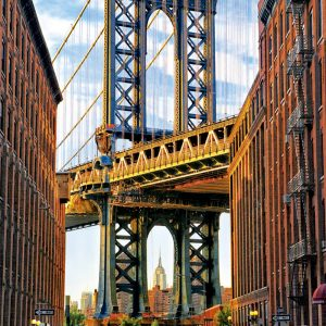 Manhattan Bridge New York 1000 Piece Educa Puzzle