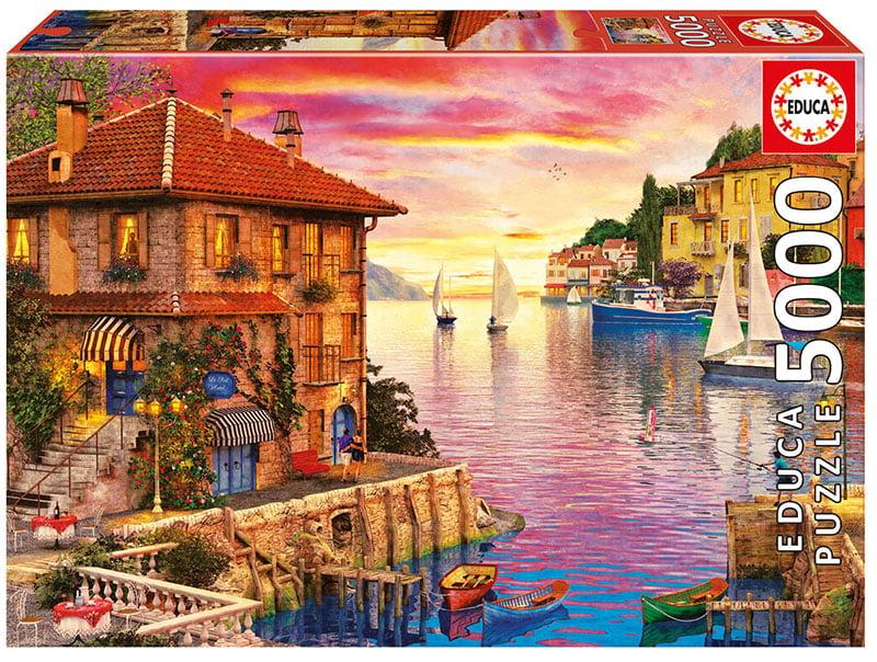 The Mediterranean Harbour 5000 Piece Educa Puzzle