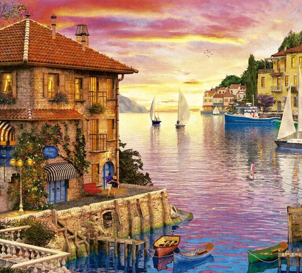 Mediterranean Harbour 5000 Piece Educa Puzzle