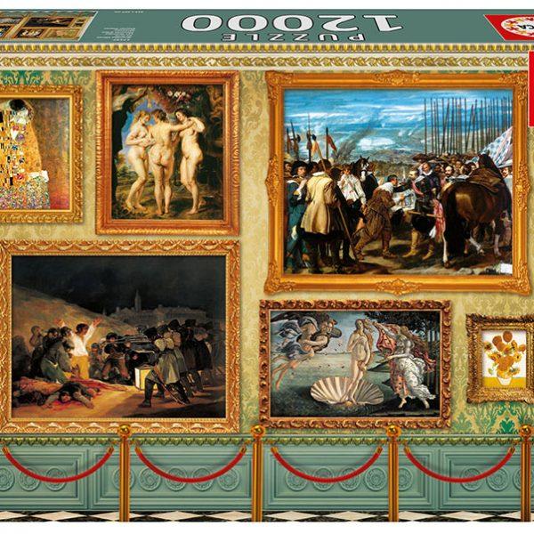 Museum Masterpieces 12000 Piece Educa
