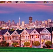 Painted Ladies San Francisco 1500 Piece Educa Puzzle
