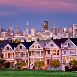 Painted Ladies San Francisco 1500 Piece Educa Puzzle