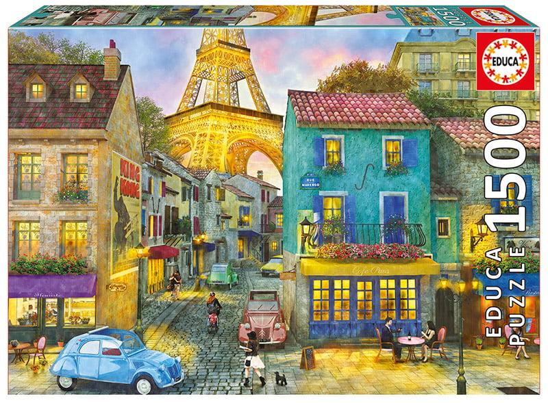 Paris Streets 1500 Piece Educa Puzzle