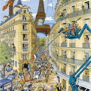 Paris by Fleroux 1000 Piece Ravensburger Puzzle