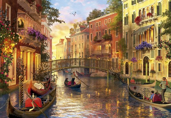 Sunset in Venice 1500 Piece Educa Puzzle