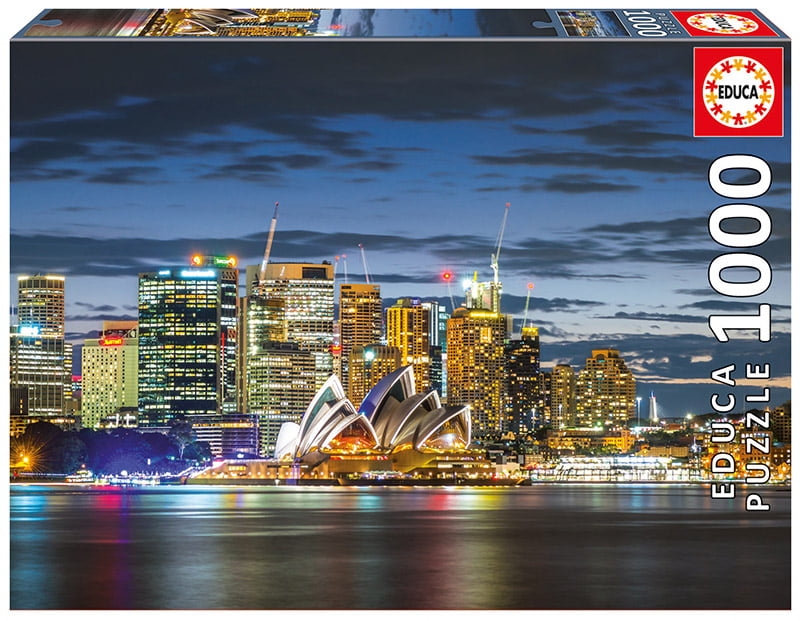 Sydney City Twilight 1000 Piece Educa Puzzle