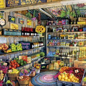 The Farmers Market 2000 Piece Educa Puzzle