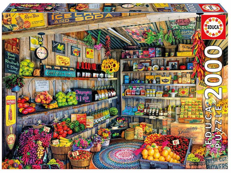 The Farmers Market 2000 Piece Educa Puzzle