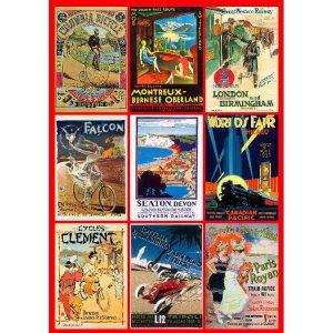 Vintage Poster 1000 Piece Piatnik Puzzle