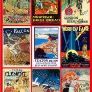 Vintage Posters Piatnik 1000 Piece Puzzle
