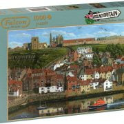 Whitby Harbour 1000 Piece Jigsaw Puzzle