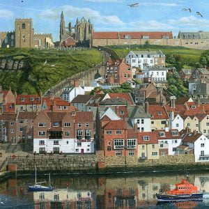 Whitby Harbour North Yorkshire 1000 Piece Puzzle