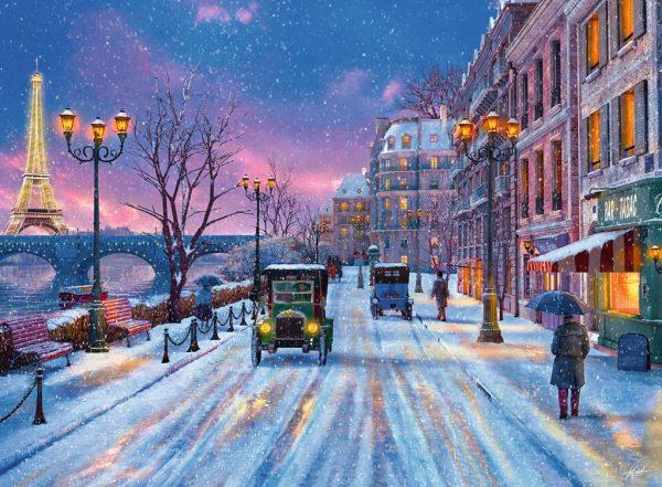 Winter in Paris 500 Piece Ravensburger Puzzle