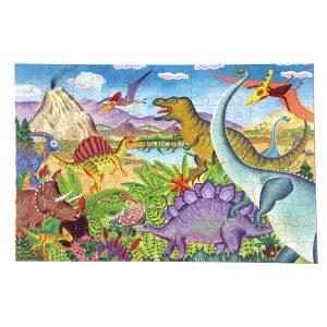 Age of the Dinosaur 100 Piece Puzzle - eeBoo