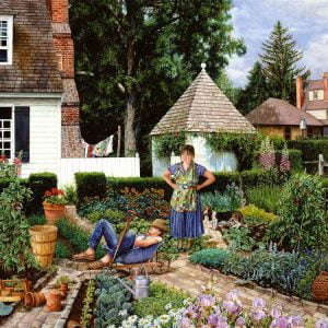 Brabeau Lazy Gardener 1000 Piece Piatnik Puzzle