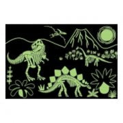 Dinosaurs Glow in the Dark 100 Piece Puzzle - Mudpuppy