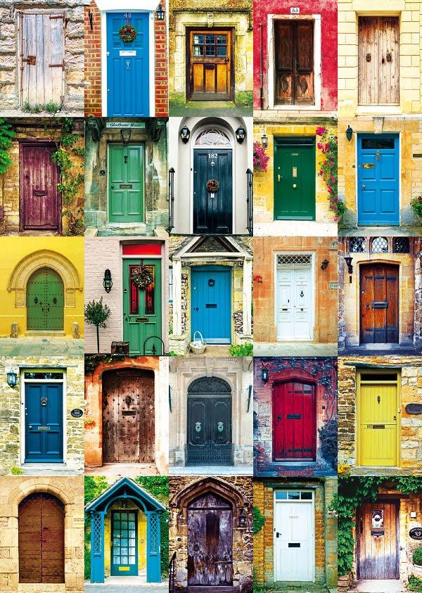 Doors Montage 1000 Piece Piatnik Puzzle