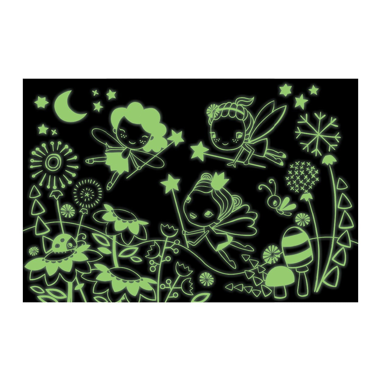 Fairies Glow in the Dark 100 Piece Puzzle - Mudpuppy