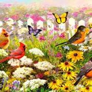 Garden Pleasures 1000 Piece Piatnik Puzzle