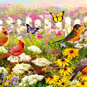 Garden Pleasures 1000 Piece Piatnik Puzzle