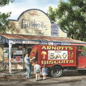 Gordon Hanley - Any Broken Biscuits 1000 Piece Blue Opal Puzzle