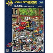 JVH Scooter Scramble 1000 Piece Holdson Puzzle