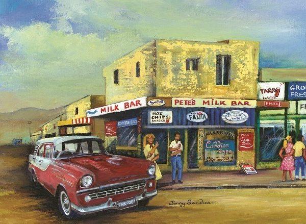 Jenny Sanders Pete's Milk Bar 1000 Piece Puzzle