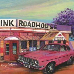 Jenny Sanders Strike Me Pink 1000 Piece Blue Opal Puzzle