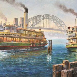 John Bradley - Circular Quay & Bridge 1000 Piece Puzzle