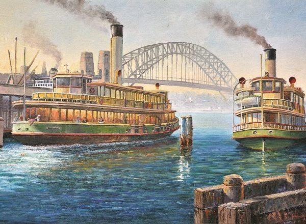 John Bradley – Circular Quay & Bridge 1000 Piece Puzzle