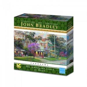 John Bradley - The Gundaroo Store at Dusk 500 Piece Puzzle