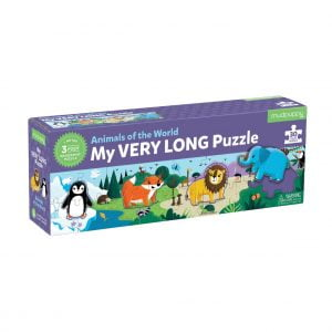 My Very Long Puzzle - Animals of the World 30 Piece - Mudpuppy