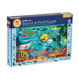 Ocean Life Search & Find 64 Piece Puzzle - Mudpuppy