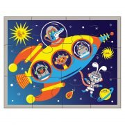 Pouch Puzzle Outer Space 12 Pieces - Mudpuppy