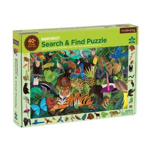 Rainforest Search & Find 64 Piece Puzzle - Mudpuppy