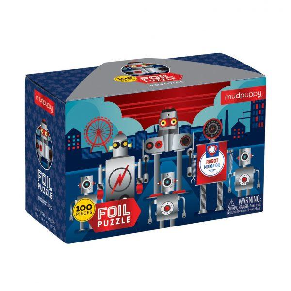 Robotics Foil Puzzle 100 Piece – Mudpuppy
